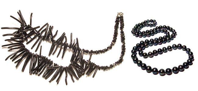 Красивые изделия из черного коралла
