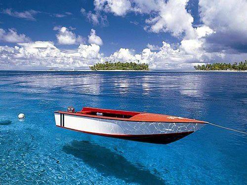 Вода прозрачнее, чем в стакане....