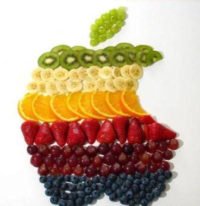 Фруктовое яблоко
