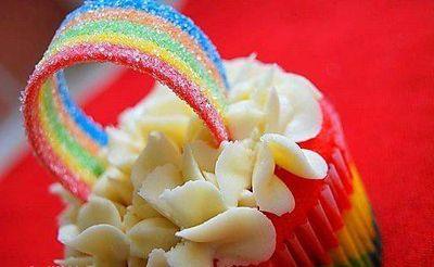Пироженко радуга