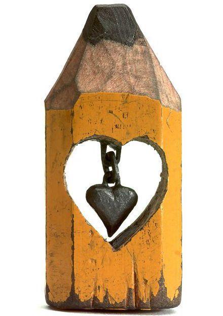 любовь в карандаше