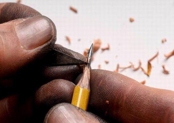 Шедевр на кончике карандаша
