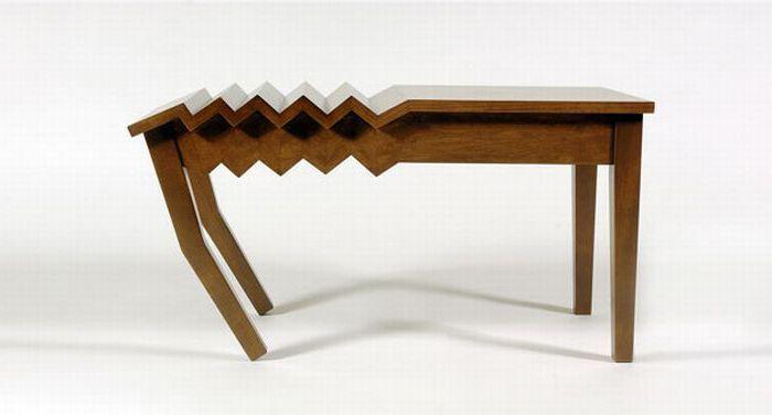 Прикольный стол гармошка