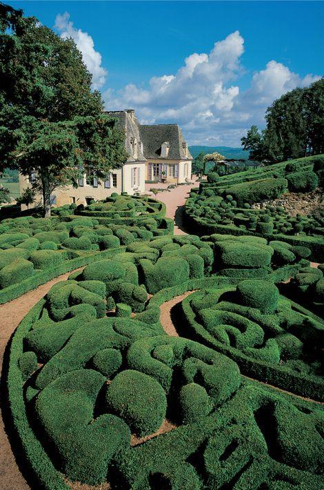 Фото садов франции