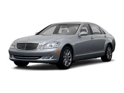 Mercedes серого цвета