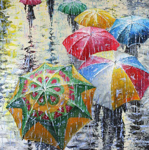 Яркий дождь - картина мечты