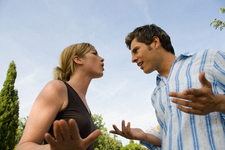 Ссора из-за неудачно шутки над любимым человеком