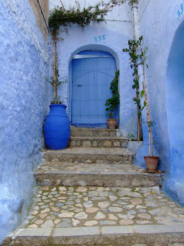Шефшауен - синяя сказка Марокко