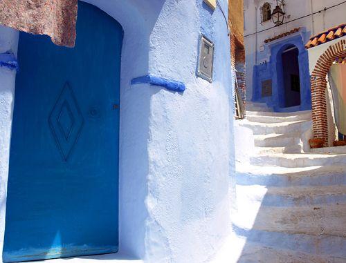 Шефшауен – синяя сказка Марокко