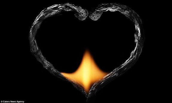Огненные Шедевры от Станислава Аристова - сердце