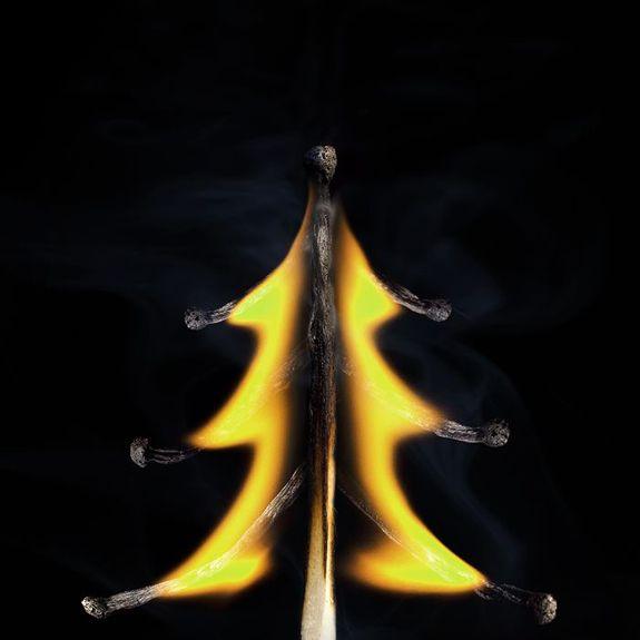 Огненные Шедевры от Станислава Аристова - ёлка