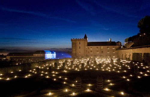 Восхитительные сады замка Вилландри
